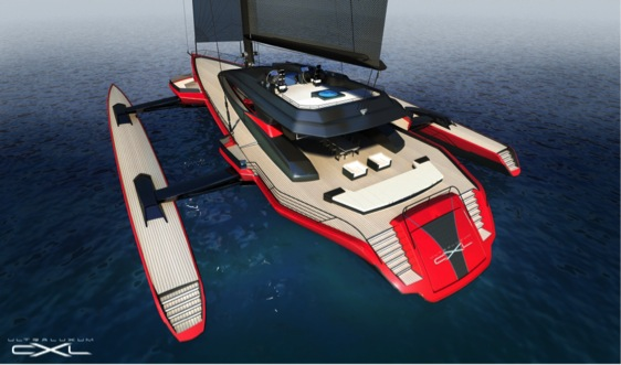 TAMSEN MARITIM selected to build Mega-Trimaran Ultraluxum CXL