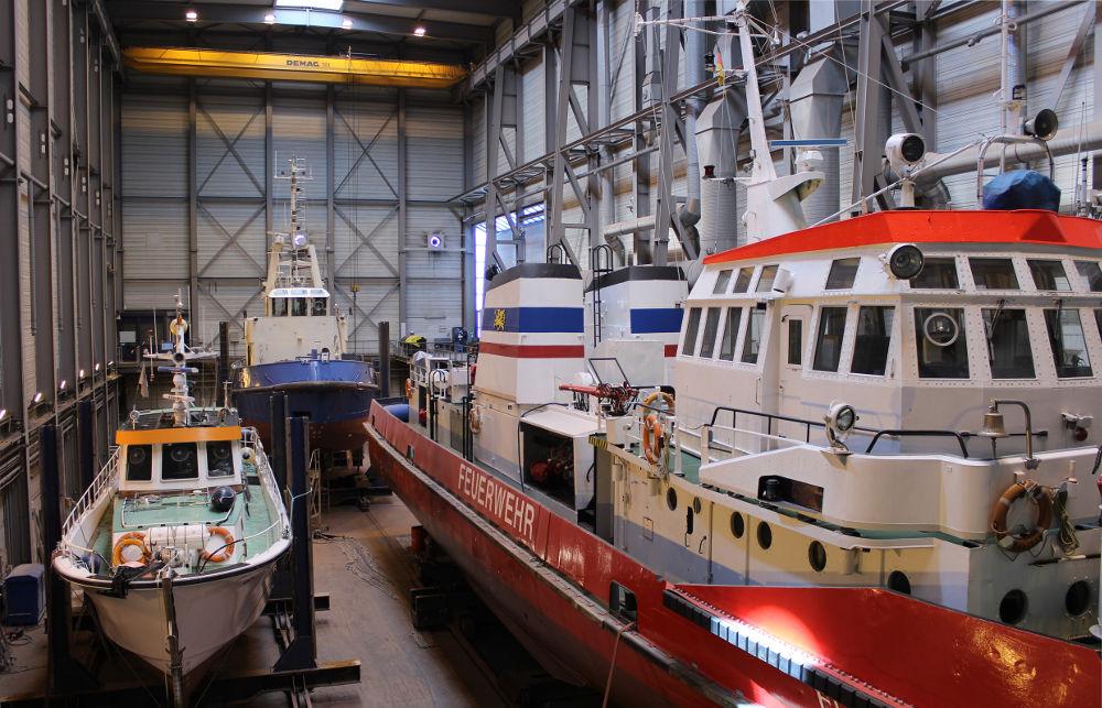 Reparatur von Spezialschiffen