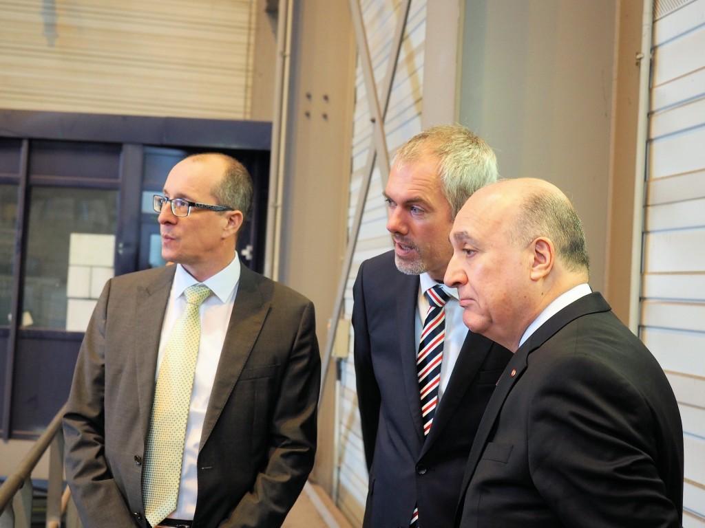 Besuch des tunesischen Botschafters