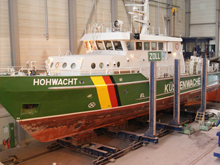 Remotorization  of two vessels of the customs authority